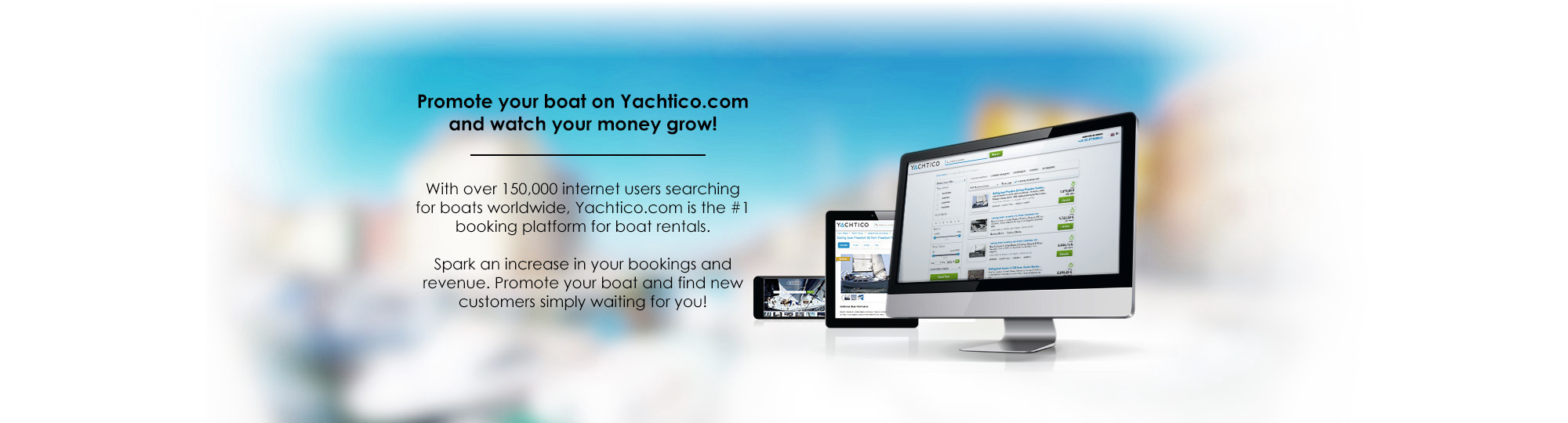 Advertise on YACHTICO.com