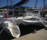 Cat Athena 38 for charter in Marine Betina