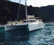 Cat Athena 38 for charter in Lefkas