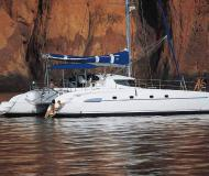 Cat Bahia 46 for charter in Marina San Antonio