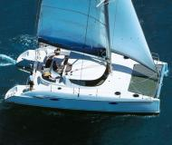 Catamaran Bahia 46 available for charter in Marina Villa Igiea