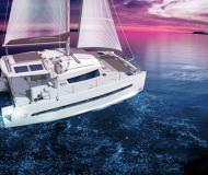 Katamaran Bali 4.0 Yachtcharter in Marina Propriano