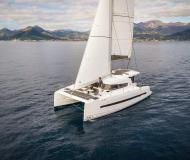Catamaran Bali 4.0 available for charter in Lefkas