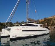 Cat Bali 4.5 for charter in Road Harbour