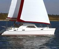 Catamaran Broadblue 385 for hire in Bodrum Marina Milta