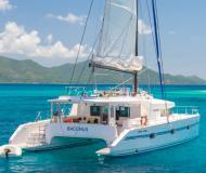 Katamaran Catlante 600 chartern in Eden Island Marina