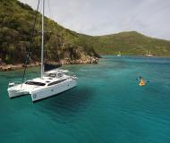Cat Gemini Legacy 35 available for charter in Maya Cove