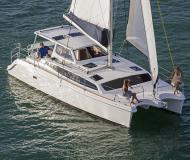 Katamaran Gemini Legacy 35 Yachtcharter in La Trinite sur Mer Hafen