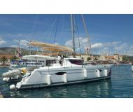 Catamaran Helia 44 available for charter in ACI Marina Trogir