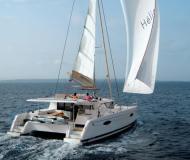 Kat Helia 44 chartern in Le Marin