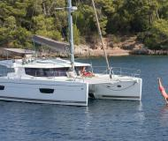 Kat Helia 44 Evolution Yachtcharter in Baie Sainte Anne