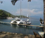 Cat Lagoon 380 for charter in Palmiye Marina