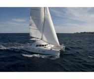 Cat Lagoon 380 available for charter in Budva Marina