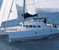 Cat Lagoon 380 available for charter in Gouvia Marina