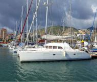 Catamaran Lagoon 380 available for charter in Palma