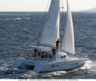 Catamaran Lagoon 380 for rent in English Harbour Town