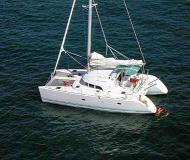 Catamaran Lagoon 380 for charter in Port Lavrio