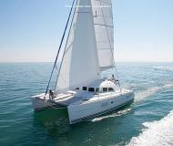 Catamaran Lagoon 380 S2 for charter in Lefkas Marina