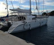 Cat Lagoon 380 S2 for hire in Marina Mandalina