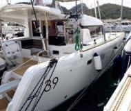 Catamaran Lagoon 39 available for charter in Clifton Harbour