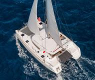 Catamaran Lagoon 39 for charter in ACI Marina Split