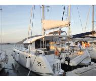 Katamaran Lagoon 39 Yachtcharter in Marina Lefkas