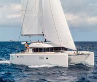 Catamaran Lagoon 39 for charter in Ece Saray Marina