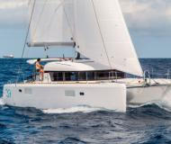 Catamaran Lagoon 39 for rent in Port Lavrio
