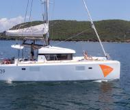 Cat Lagoon 39 for charter in Preveza Marina