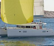 Cat Lagoon 400 available for charter in Marina Anse Marcel