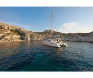 Cat Lagoon 400 available for charter in Ece Saray Marina