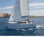Kat Lagoon 400 chartern in Port Pin Rolland