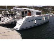 Cat Lagoon 400 S2 for charter in Marina Anse Marcel