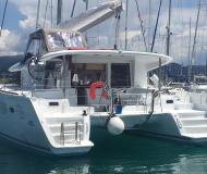 Catamaran Lagoon 400 S2 for rent in Lefkas Marina