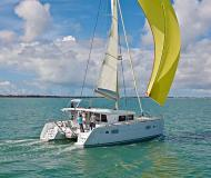 Catamaran Lagoon 400 S2 available for charter in Port Lavrio