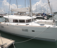 Cat Lagoon 400 S2 for charter in Yacht Haven Marina Phuket