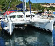 Cat Lagoon 410 S2 for charter in Portisco