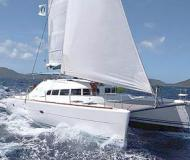 Cat Lagoon 410 S2 for charter in Rodney Bay Marina