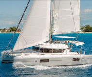 Catamaran Lagoon 42 available for charter in Lavrio