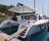 Cat Lagoon 420 for rent in Port Goecek Marina