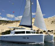 Catamaran Lagoon 420 for rent in Finikas