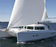 Cat Lagoon 420 available for charter in Portimao