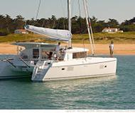 Cat Lagoon 421 available for charter in Marina Kremik
