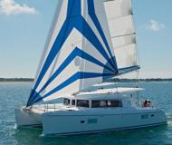 Cat Lagoon 421 available for charter in Preveza