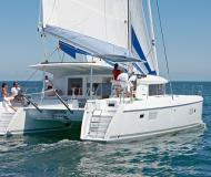 Cat Lagoon 421 available for charter in Marina Cienfuegos