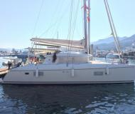 Cat Lagoon 421 available for charter in Alghero