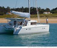 Cat Lagoon 421 available for charter in Port Goecek Marina