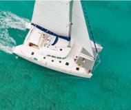 Catamaran Lagoon 440 available for charter in Gouvia
