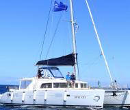 Catamaran Lagoon 440 available for charter in Portisco