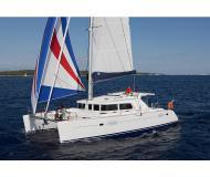 Cat Lagoon 440 for rent in Marina di Arechi